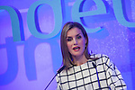 Queen Letizia of Spain speaks during Fundeu´s 10th Anniversary ceremony in Madrid, Spain. Month XX, 2015. (ALTERPHOTOS/Victor Blanco)