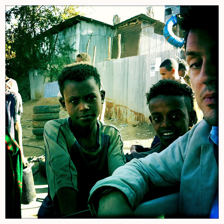 10x10 director Richard Robbins in Ethiopia.