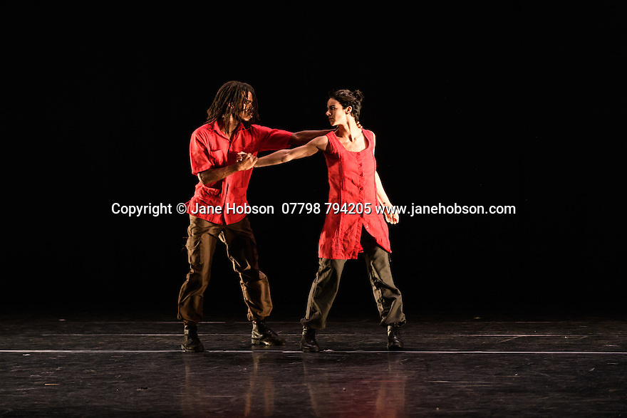 "Dance Consortium presents Danza Contemporanea de Cuba, in the Barbican Hall, as part of their UK tour 2017. The piece shown, ""Matria Etnocentra"", choreographed by George Céspedes, is the third part of a triple bill, which also includes ""reversible"", choreographed by Annabelle Lopez Ochoa, and ""The Listening Room"", choreographed by Theo Clinkard. The dancers are: Anabel Pomar, Andrés Ascanio, Arelys Hernández, Arlet A. Fernández, Claudia H. Rodríguez, Danny Rodríguez, Dayron Romero, Esven C. González, Heriberto Meneses, Iliana Solís, Iosmaly Ordoñez, Javier A. Aguilera, Jennifer Tejeda, José A. Elias, Laura Ríos, Leyna González, Maikel Pons, Niosbel O. González, Norge Cedeño, Penélope Morejón, Raúl Barrera, Stephanie Hardy, Thais Suárez, Víctor M. Varela."