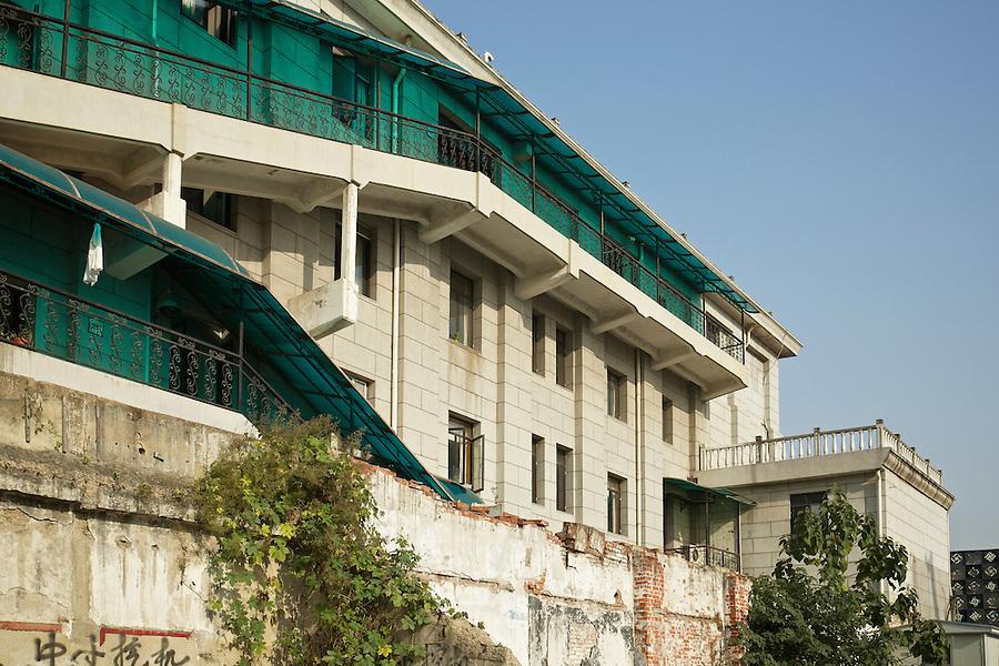 Office Building Detail, The Bund, Hankou (Hankow).