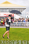 Listowel Races : Nollaigh McCarthy McEnery, Listowel winner of best dressed lady at Listowel Races on Sunday last.