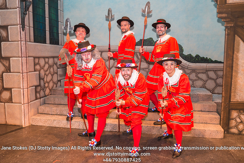 The New London Opera Group in their production of The Yeomen of the Guard on Thursday 10 August 2017 at 19:30 in the Royal Hall. Directed by Chris Cann and Conductor Alex Carpenter. 24th International Gilbert & Sullivan Festival, Harrogate, North Yorkshire 04-20 August 2017 Photo by Jane Stokes