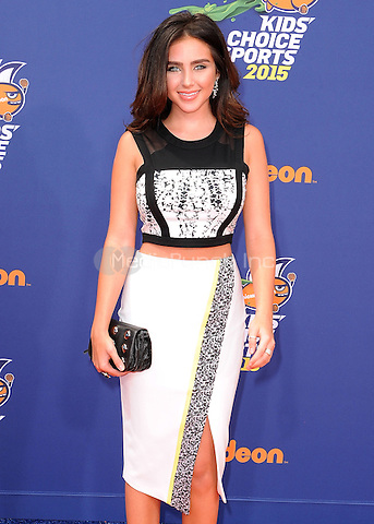 LOS ANGELES, CA - JULY 16:  Ryan Newman at the Nickelodeon Kids Choice Sports 2015 at the Pauley Pavilion on July 16, 2015 in Los Angeles, California. Credit: PGSK/MediaPunch