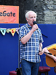 Gerry Kirwan singing at the Music at The Gate event. Photo:Colin Bell/pressphotos.ie