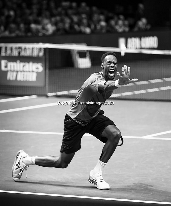 Rotterdam, The Netherlands, 15 Februari 2020, ABNAMRO World Tennis Tournament, Ahoy,<br /> Mens Single Final: Felix Auger-Alissime (CAN). <br /> Photo: www.tennisimages.com