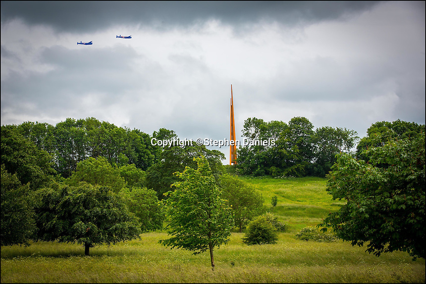 Photo by © Stephen Daniels -MONTAGE-<br /> The Lincolnshire Bomber Command Memorial, Lincoln.