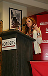 Melissa Gilbert is the author of the new book Prairie Tale on June 9, 2009 at Borders, New York City, NY. where she talked about herself and answered questions. - Photo by Sue Coflin/Max Photos
