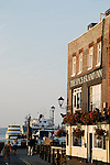 Spice Island Inn and ferry port in Old Portsmouth, Hampshire, England
