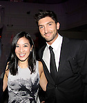 Michelle Kwan & Evan Lysacek - 10th Annual Gala celebrating Figure Skating in Harlem's 18th year of operations at The Stars 2015 Benefit Gala on April 13, 2015 in New York City, New York honoring Olympic Champion Evan Lysacek, Gloria Steinem and Nicole, Alana and Juliette Feld with Mary Wilson as Mistress of Ceremony. (Photos by Sue Coflin/Max Photos)
