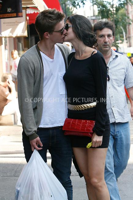 WWW.ACEPIXS.COM . . . . .  ....September 18, 2010....Actor Xavier Samuel and girlfriend Shermine Shahrivar walks through West Village on September 18, 2010 in New York City.......Please byline: NANCY RIVERA - ACEPIXS.COM.... *** ***..Ace Pictures, Inc:  ..Philip Vaughan  (646) 769 0430..e-mail: info@acepixs.com..web: http://www.acepixs.com