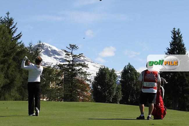 Joost Luiten (NED) on Day 4 of the Omega European Masters 2012, Golf Club Crans-Sur-Sierre, Crans Montana, Switzerland, 01/09/12...(Photo Jenny Matthews/www.golffile.ie)