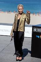 Swedish actress Noomi Rapace presents the film 'The Drop' during the 62st San Sebastian Film Festival in San Sebastian, Spain. September 21, 2014. (ALTERPHOTOS/Caro Marin) <br /> Foto Insidefoto <br /> Festival del film di San Sebastian <br /> Foto Alterphotos/Insidefoto
