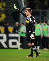 FUSSBALL   1. BUNDESLIGA   SAISON 2011/2012    15. SPIELTAG Borussia Moenchengladbach - Borussia Dortmund        03.12.2011 Marc Andre ter Stegen (Borussia Moenchengladbach)
