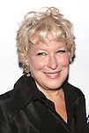 Bette Midler attends the Off-Broadway opening Night Performance After Party for 'Billy & Ray' at the Vineyard Theatre on October 20, 2014 in New York City.