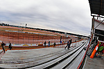 Feb 06, 2014; 6:25:54 PM; Waynesville, GA., USA; The Lucas Oil Late Model Dirt Series running The Georgia Boot Super Bowl of Racing at Golden Isles Speedway.  Mandatory Credit: (thesportswire.net)