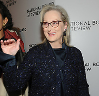 NEW YORK, NY - JANUARY 09: Meryl Streep attends the 2018 National Board Of Review Awards Gala at Cipriani 42nd Street on January 9, 2018 in New York City.  <br /> CAP/MPI/JP<br /> &copy;JP/MPI/Capital Pictures