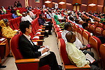 DJIBOUTI conference IGAD Business Forum 2015, chinese participant / DSCHIBUTI Konferenz IGAD Business Forum 2015, chinesischer Teilnehmer