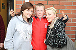 Sarah Campbell, Dillon O'Brien and Nicole Devine at the Open Day for Boyne Garda Youth Project...Picture Jenny Matthews/Newsfile.ie