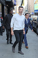 NEW YORK, NY July 02, 2018 Eddie Cibrian at Good Morning America to talk about the new ABC series Take Two in New York. July 02, 2018 <br /> CAP/MPI/RW<br /> &copy;RW/MPI/Capital Pictures