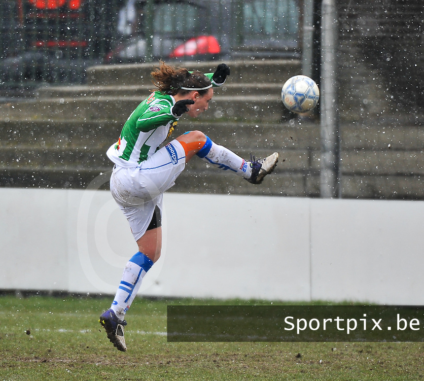 Club Brugge Dames - PEC Zwolle : Lisanne Vermeulen.foto DAVID CATRY / Vrouwenteam.be