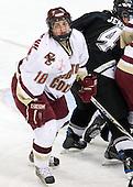 Meghan Fardelmann (Boston College - 18) - The Providence College Friars and Boston College Eagles tied at 1 on BC's senior night on Saturday, February 21, 2009, at Conte Forum in Chestnut Hill, Massachusetts.