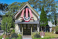 Cottage Museum, Oak Bluffs, Martha's Vineyard, Massachusetts, USA