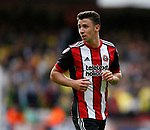 Enda Stevens of Sheffield Utd  during the Championship match at Bramall Lane Stadium, Sheffield. Picture date 16th September 2017. Picture credit should read: Simon Bellis/Sportimage