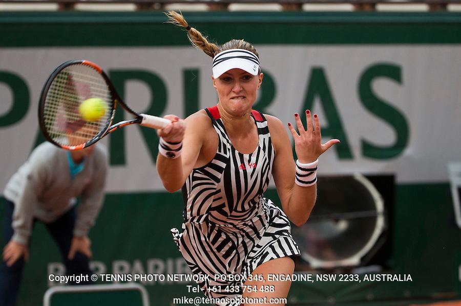 KRISTINA MLADENOVIC (FRA)<br /> <br /> TENNIS - FRENCH OPEN - ROLAND GARROS - ATP - WTA - ITF - GRAND SLAM - CHAMPIONSHIPS - PARIS - FRANCE - 2016  <br /> <br /> <br /> <br /> &copy; TENNIS PHOTO NETWORK