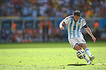 Lionel Messi (ARG), JULY 5, 2014 - Football / Soccer : Lionel Messi of Argentina takes a free kick during the FIFA World Cup Brazil 2014 Quarter-finals match between Argentina 1-0 Belgium at Estadio Nacional in Brasilia, Brazil. (Photo by FAR EAST PRESS/AFLO)
