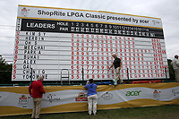 A general view of the scoreboard on the 18th hole during the ShopRite LPGA Classic presented by Acer, Seaview Bay Club, Galloway, New Jersey, USA. 6/10/18.<br /> Picture: Golffile   Brian Spurlock<br /> <br /> <br /> All photo usage must carry mandatory copyright credit (&copy; Golffile   Brian Spurlock)