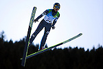 JAP Go Yamamoto competes during the training of the Nordic Combined NH as part of the Trentino 2013 Winter Universiade Italy on 12/12/2013 in Predazzo, Italy.<br /> <br /> &copy; Pierre Teyssot - www.pierreteyssot.com