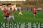 Declan Griffin of Lispole ,Kieran Doyle of Glenbeigh tussling for ball