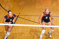 SAN ANTONIO, TX - SEPTEMBER 21, 2006: The Stephen F Austin State University Ladyjacks vs. The University of Texas at San Antonio Roadrunners Volleyball at the UTSA Convocation Center. (Photo by Jeff Huehn)
