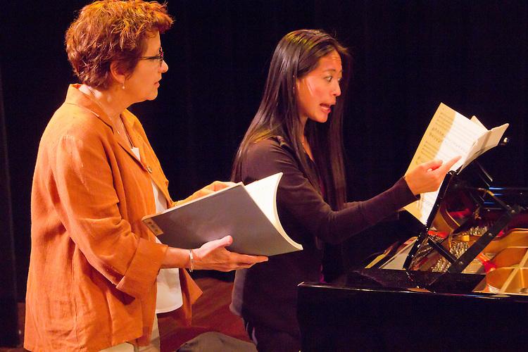 Centrum, Chamber Music Workshop, Fort Worden, June 16-21 2015, Lucinda Carver, teaching workshop artists, Pauline Yang, pianist, Port Townsend, Pacific Northwest, Washington State,