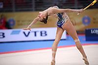 September 14, 2018 - Sofia, Bulgaria - ALEKSANDRA SOLDATOVA of Russia performs in AA final at 2018 World Championships.