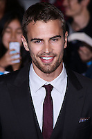 "WESTWOOD, LOS ANGELES, CA, USA - MARCH 18: Theo James at the World Premiere Of Summit Entertainment's ""Divergent"" held at the Regency Bruin Theatre on March 18, 2014 in Westwood, Los Angeles, California, United States. (Photo by David Acosta/Celebrity Monitor)"