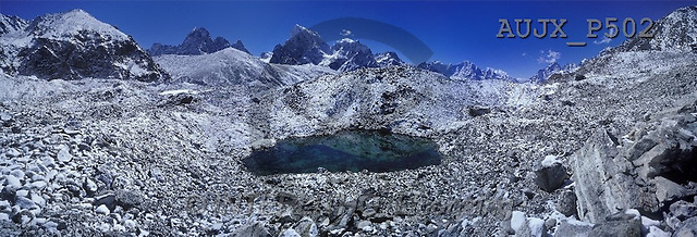 Dr. Xiong, LANDSCAPES, panoramic, photos, Emerald of the Himalayas, Gokyo, Nepal(AUJXP502,#L#)