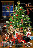 GIORDANO, CHRISTMAS ANIMALS, WEIHNACHTEN TIERE, NAVIDAD ANIMALES, paintings+++++,USGI2955,#xa#