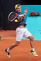 Argentine Diego Schwartzman during Mutua Madrid Open 2018 at Caja Magica in Madrid, Spain. May 09, 2018. (ALTERPHOTOS/Borja B.Hojas) /NortePhoto NORTEPHOTOMEXICO