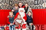 Conor, Ciara, Katlyn, Kian, JP and Paula Kelly- Carey paid a visit to Santa at the Deenagh Lodge runned by Kerry Down Syndrome last Sunday.