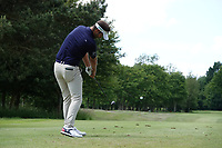 Christopher Mivis (BEL) in action on the 16th tee during the third round of the Hauts de France-Pas de Calais Golf Open, Aa Saint-Omer GC, Saint- Omer, France. 15/06/2019<br /> Picture: Golffile | Phil Inglis<br /> <br /> <br /> All photo usage must carry mandatory copyright credit (© Golffile | Phil Inglis)