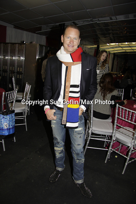 Carson Kressley at Skating with the Stars - a benefit gala for Figure Skating in Harlem in its 17th year is celebrated with many US, World and Olympic Skaters honoring Michelle Kwan and Jeff Treedy on April 7, 2014 at Trump Rink, Central Park, New York City, New York. (Photo by Sue Coflin/Max Photos)