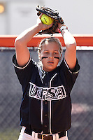 SAN ANTONIO, TX - MARCH 31, 2012: The Northwestern State University Demons vs. The University of Texas at San Antonio Roadrunners Softball at Roadrunner Field. (Photo by Jeff Huehn)