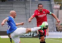 Patrick Herrmann (SV Darmstadt 98) gegen Edgar Prib (Hannover 96)<br /> <br /> - 14.06.2020: Fussball 2. Bundesliga, Saison 19/20, Spieltag 31, SV Darmstadt 98 - Hannover 96, emonline, emspor, <br /> <br /> Foto: Marc Schueler/Sportpics.de<br /> Nur für journalistische Zwecke. Only for editorial use. (DFL/DFB REGULATIONS PROHIBIT ANY USE OF PHOTOGRAPHS as IMAGE SEQUENCES and/or QUASI-VIDEO)