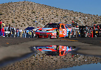 Nov. 7, 2008; Avondale, AZ, USA; NASCAR Sprint Cup Series driver Jeff Burton during practice for the Checker Auto Parts 500 at Phoenix International Raceway. Mandatory Credit: Mark J. Rebilas-