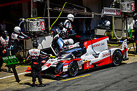 #8 TOYOTA GAZOO RACING (JPN) TOYOTA TS050 HYBRID LMP1 SEBASTIEN BUEMI (CHE) KAZUKI NAKAJIMA (JPN) BRENDON HARTLEY (NZL)