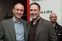 London, UK. 24.02.2014. Stuart Matthew Price (who plays Tony Gross) and Nick Winston, choreographer, at the after party for press night of The A to Z of Mrs P, which premieres at Southwark Playhouse. © Jane Hobson.