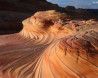 Red Rocks Swirl formation near Lake Powell