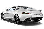 Rear three quarter view of a 2012 - 2014 Aston Martin Vanquish 2+2 Coupe.