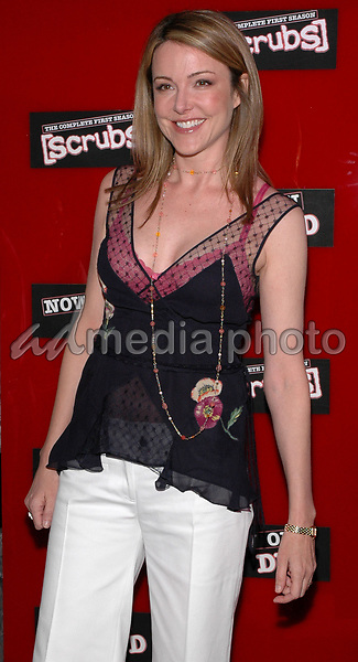 15 May 2005 - New York, New York - Christa Miller arrives at the launch party for her series &quot;Scrubs&quot; First Season DVD  at the AER Lounge in Manhattan.<br />Photo Credit: Patti Ouderkirk/AdMedia